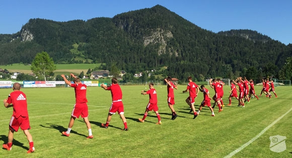 spvgg unterhaching trainingslager thiersee